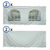 20' x 30' Party & Canopy Tent Premium Blockout Sidewall Kit