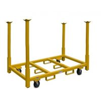 "Rolling Tables and Chair Storage Cart - 33"" Legs"