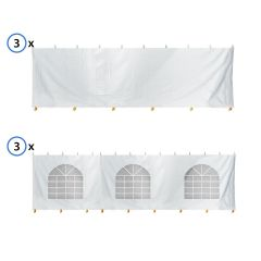 30' x 60' Standard Sidewall Kit for 7' Tent Sides