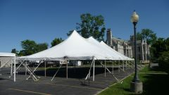 USED 40 'x 60' Party Pole Tent, C Grade