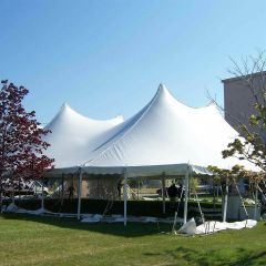 USED 60 'x 100' Party Pole Tent, C Grade