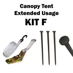 Canopy Tent Extended Usage, Kit F