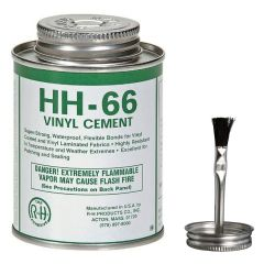 HH 66 Adhesive Vinyl Cement 4oz with Brush