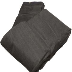 10' x 12' Black Mesh Poly Tarp