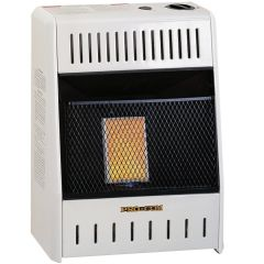 ProCom 6000 BTU Ventless Propane Gas Single Plaque Wall Heater