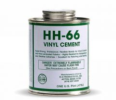 HH 66 Adhesive Vinyl Cement 16oz with Brush