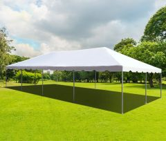 20' x 40' PVC Weekender West Coast Frame Party Tent - White