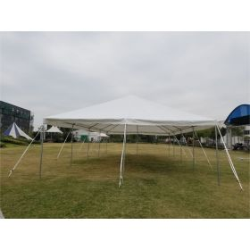 20' x 40' PE Weekender West Coast Frame Party Tent - White