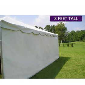 Moose Supply 30' x 30' Heavy-Duty Economy Sidewall Kit for 8' Tent Sides