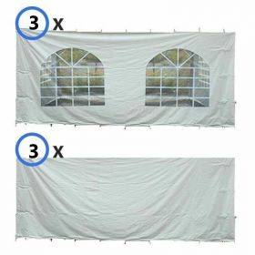 30' x 40' Party & Canopy Tent Premium Blockout Sidewall Kit