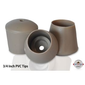 Replacement Tan Chair Tips 100 Pack
