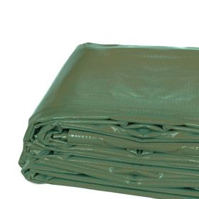 20' x 20' Heavy Duty Waterproof PVC Vinyl Tarp - Green