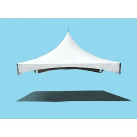 15' x 15' High Peak Frame Top Only - White