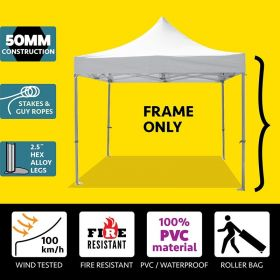 10' x 10' 50mm Speedy Party Tent Frame