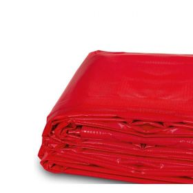 10' x 12' Heavy Duty Waterproof PVC Vinyl Tarp - Red