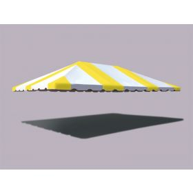 20' x 30' Weekender West Coast Frame Tent Top - Yellow