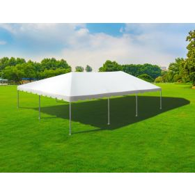 30' x 45' Twin Tube West Coast Frame Party Tent - White