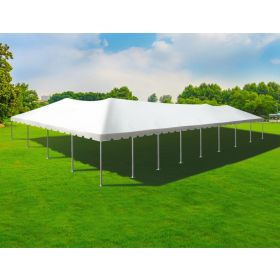 40' x 80' Twin Tube West Coast Frame Party Tent - White