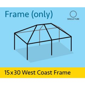 15' x 30' Replacement West Coast Tent Frame Only