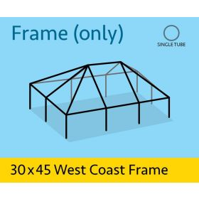 30' x 45' Replacement West Coast Tent Frame Only
