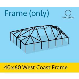 40' x 60' Replacement West Coast Tent Frame Only