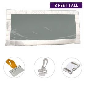 8' x 10' Party & Canopy Tent Premium Clear Sidewall