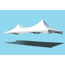 20' x 30' High Peak Frame Top Only - White