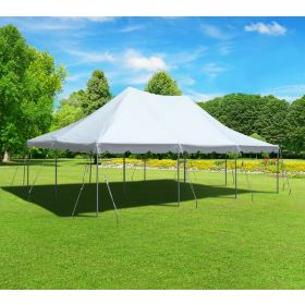USED 20' x 30' Premium Canopy Pole Party Tent - White