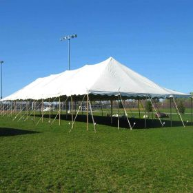 USED 30 'x 90' Party Pole Tent, C Grade