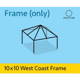 10' x 10' Replacement West Coast Tent Frame Only