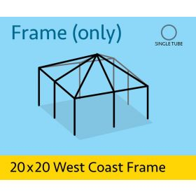 20' x 20' Replacement West Coast Tent Frame Only