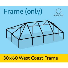 30' x 60' Replacement West Coast Tent Frame Only
