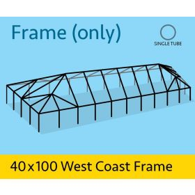 40' x 100' Replacement West Coast Tent Frame Only