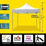 10' x 10' 50mm Speedy Pop-up Party Tent - White