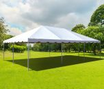 20' x 30' PVC Weekender West Coast Frame Party Tent - White
