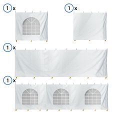 15' x 30' Party & Canopy Tent Premium Blockout Sidewall Kit