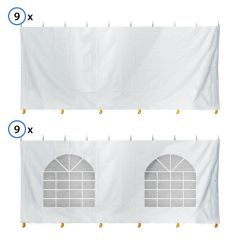 60' x 120' Standard Sidewall Kit for 7' Tent Sides