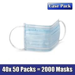 Disposable Face Mask, 2000 Count