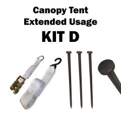 Canopy Tent Extended Usage, Kit D