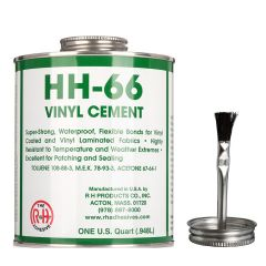 HH 66 Adhesive Vinyl Cement 32oz with Brush