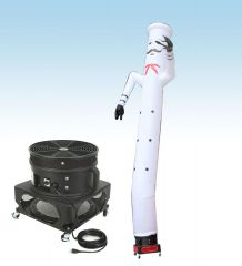 18' Fly Guy Inflatable Tube Man with Blower - Chef