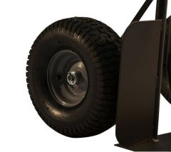 "Heavy Duty 15"" Pneumatic Dolly Tire & Rim"