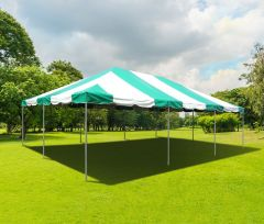 20' x 30' PVC Weekender West Coast Frame Party Tent - Green