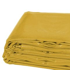 20' x 30' Heavy Duty Waterproof PVC Vinyl Tarp - Yellow
