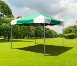 10' x 10' PVC Weekender West Coast Frame Party Tent - Green