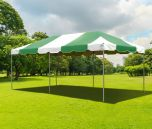 10' x 20' PVC Weekender West Coast Frame Party Tent - Green