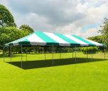 20' x 40' PVC Weekender West Coast Frame Party Tent - Green