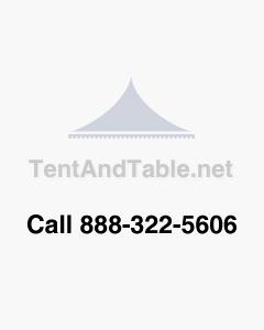 25' Aluminum Center Pole For 60-Wide Pole Tent (2 Piece)