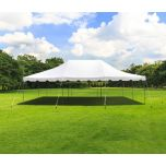 20' x 30' Weekender Standard Canopy Pole Tent - White