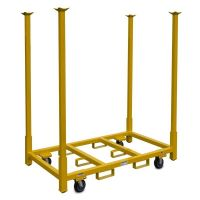 """Rolling Tables and Chair Storage Cart - 66"""" Legs"""